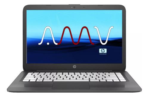 notebook hp stream amd 14 hd intel 4gb 32gb disco solido amv