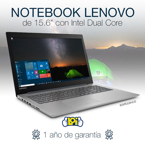 notebook lenovo nueva 15.6' 1tb bluetooth dvd win10 en loi