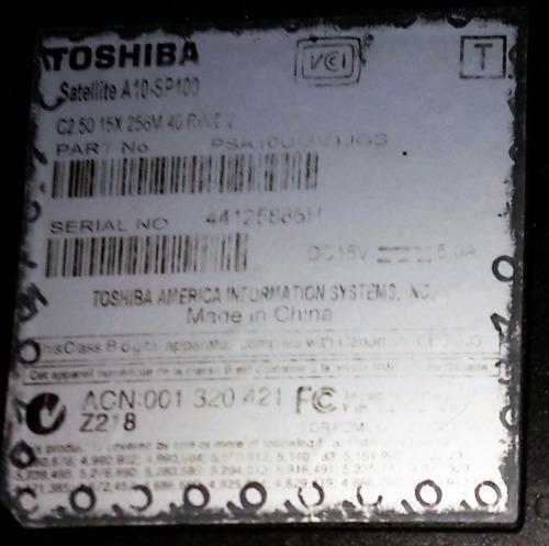 notebook toshiba satellite!, $1.200!!, súper oferta!!!