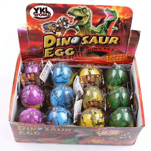 novedad huevos de dinosaurio