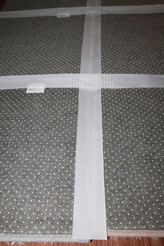 novedosa alfombra peluda shaggy p/armar 35x35cm c/accesorios