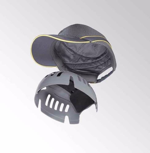 novedosa gorra de seguridad, actua como casco