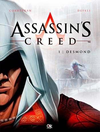 novela gráfica  assassin´s creed - tomo 1 - desmond nice