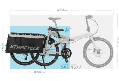 nueva! bicicleta plegable tern node cargo garantia 10 años