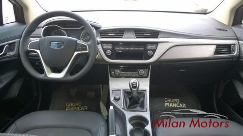 nueva camioneta geely emgrand gs manual y automatica 0 km