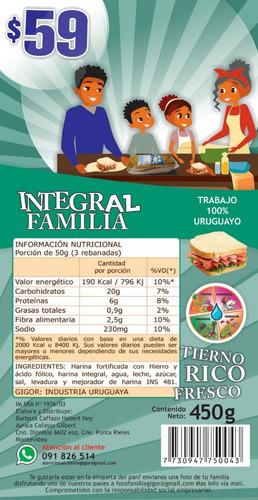 nueva linea de pan lactal busca distribuidores.