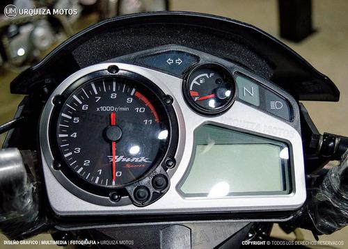 nueva moto hero hunk sports 150 15.2 bhp 0km urquiza motos