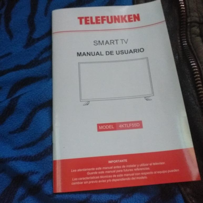 Nueva Tv Smart 55 Telefunken 4k - $ 24 000,00