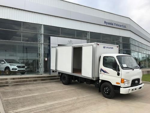 nuevo hyundai hd-78 furgón de fábrica-la mejor terminación!!