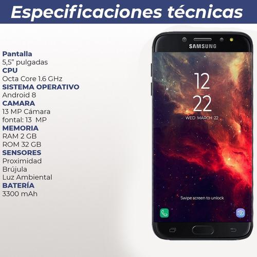 nuevo samsung j7 star metro 32 gb 2 ram 13 mp + smartwatch