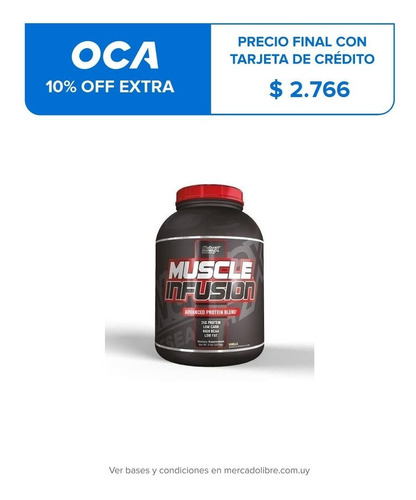 nutrex muscle infusion 5lb vainilla