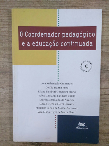 o coordenador pedagogico e a educação continuada