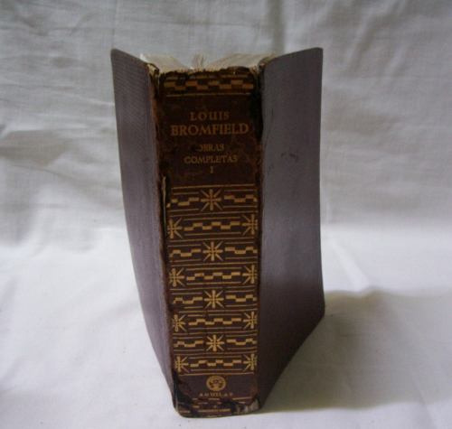 obras completas - bromfield - t. i -aguilar - 1964 - madrid