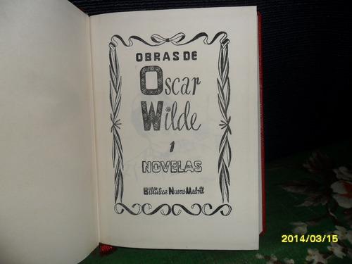 obras de oscar wilde novelas