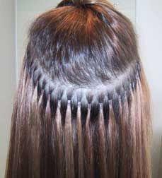oferta! cabello natural y extensiones