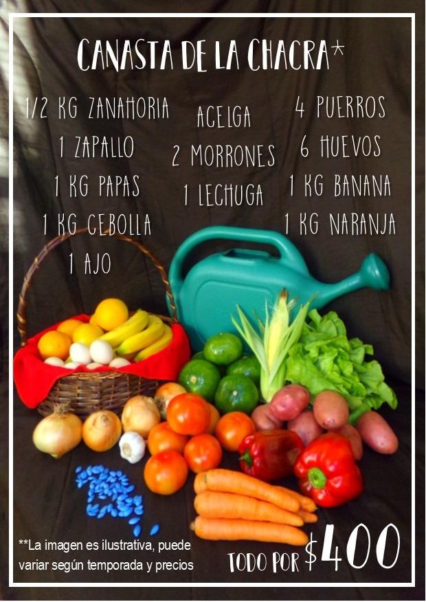 8da7a68c6f96 ¡oferta! Canasta Familiar De Frutas Y Verduras Frescas