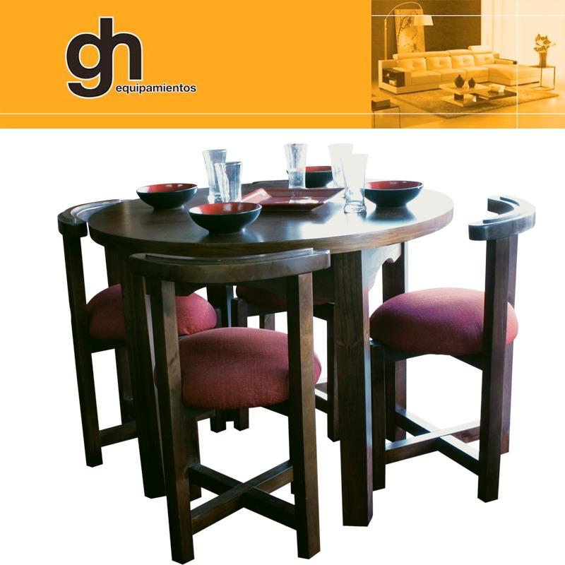 Oferta Comedor De 4 Sillas Para Cocina Desayunador Gh.equipa