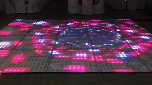 oferta de discoteca con pista led y cabina de fotos
