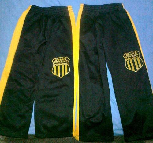 oferta pantalones deportivo de peñarol para niños t6,8,10y12