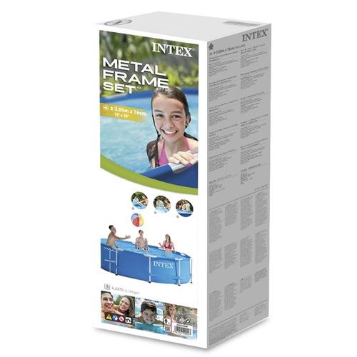 oferta piscina intex 305 x 76 4500 lts bomba filtro adeleste