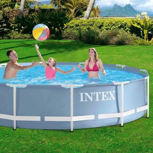 oferta! piscina intex 457 x 84 modelo 2019 completa 11325 lt