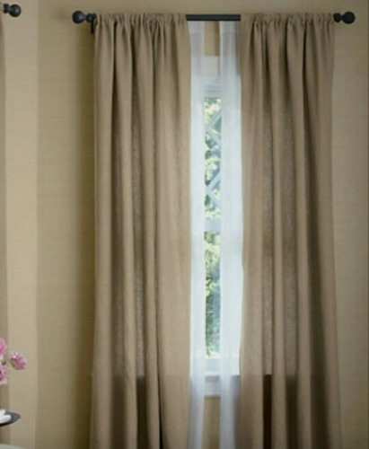 oferton !!  cortinas en jacquard