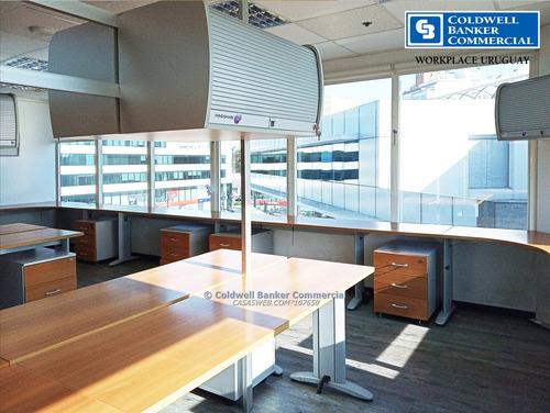 oficina equipada -alquiler world trade center -wtc- pocitos