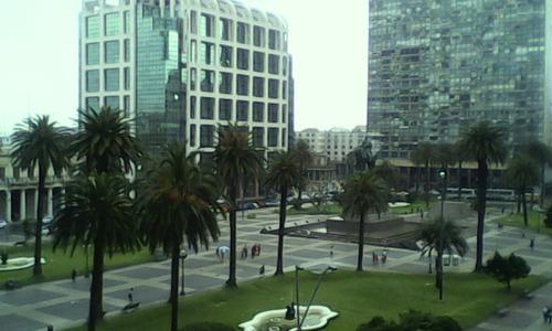 oficina frente a plaza independencia! amueblada
