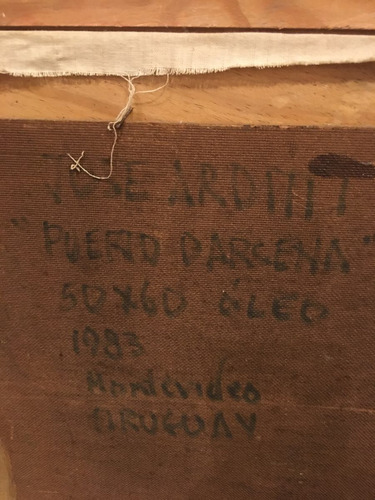óleo de josé arditti de 50x60 de 1983. divino !!