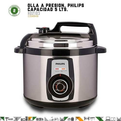 ollas a presion philips hd2103 daily collection 5 lts - fama