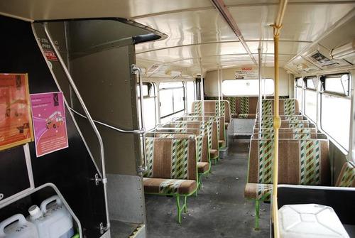 ómnibus inglés de 2 pisos - único en uruguay