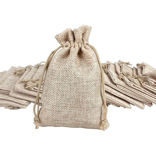 ondder 24 pack bolsas de arpillera con cordón bolsas de r