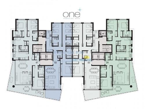 one ii, 1 dormitorio - ref: 7998