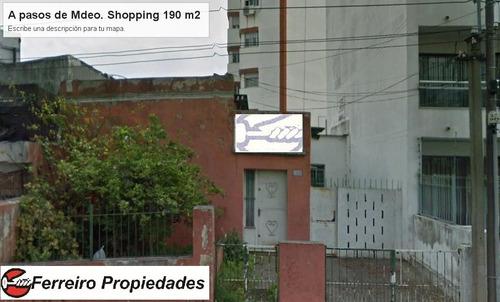 oportunidad !!!espectacular ubicacion prox. a mdeo. shopping
