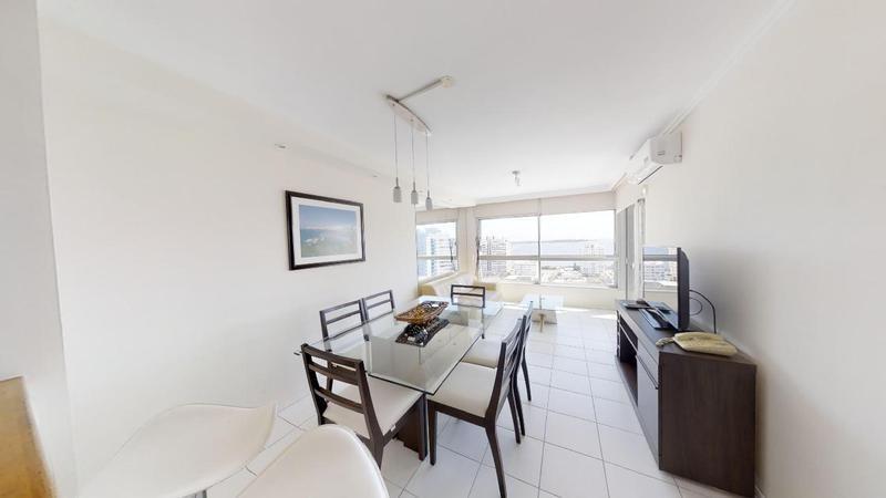 oportunidad      esplendido apartamento con vista al mar  2 dormitorios piso alto, con amenities.