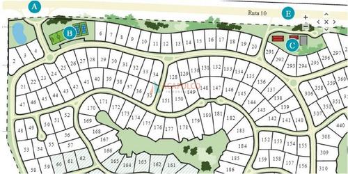 oportunidad lote en las garzas barrio privado 1200 m2 - ref: 3079