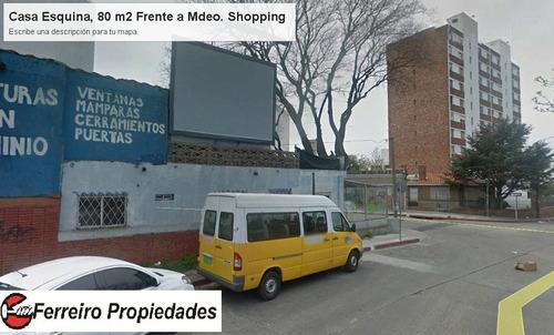 oportunidad!!!! terreno inversionistas fte. mdeo. shopping