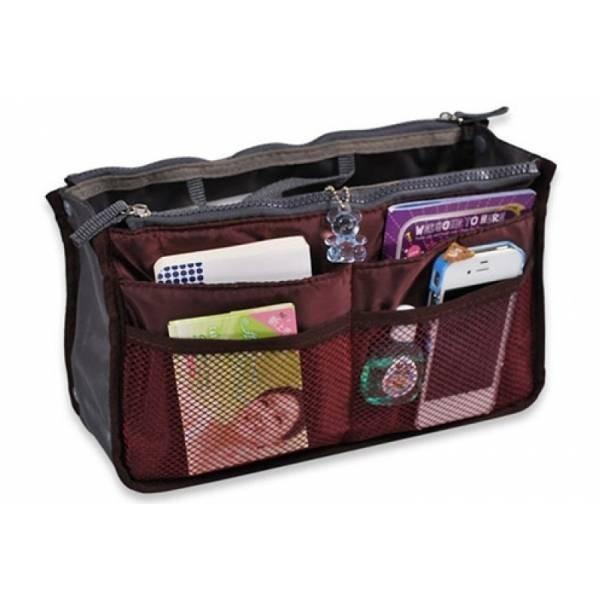 469fe9693 Organizador De Cartera Bolso Y Mochila - Neceser Viaje Mujer - $ 340,00 en  Mercado Libre