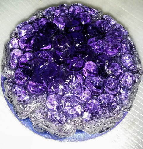 orgonite flor (duas unidades)
