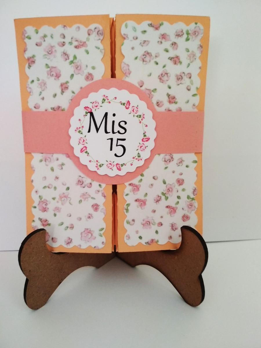 Original caja invitaci n vintage tarjetas 15 a os boda for Tarjetas de 15 anos vintage