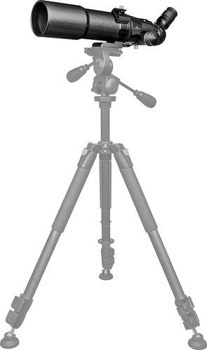 orion ed66 cf carbon fiber refractor telescope black