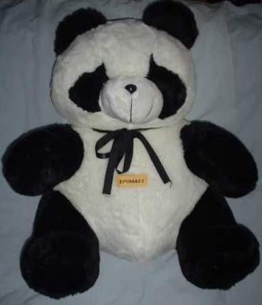 oso panda de 50 cms llevatelo a casa o en tu auto jetta