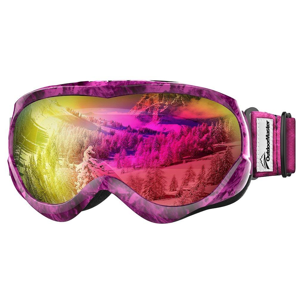 08d22c830f4 outdoormaster kids ski goggles - gafas de nieve compatibl. Cargando zoom.