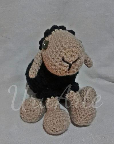 oveja tejida peluche muñeco crochet amigurumi infantil niño