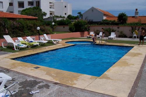 p 23 mansa, depto para 4 personas, piscina parrillero garage