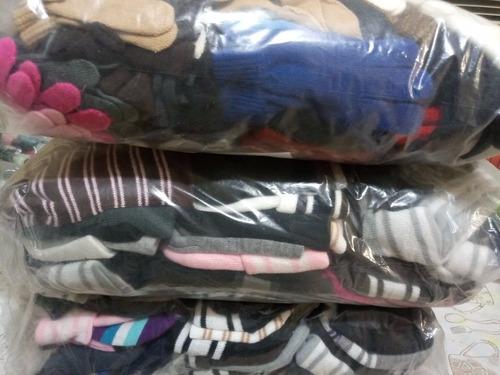 paca americana de guantes, gorros y calcetines mixta 160 pza