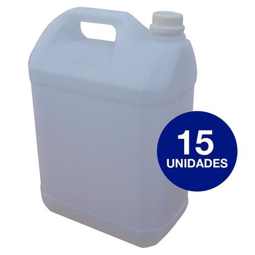 pack 15 bidones plásticos de 10 litros - plásticos sánchez