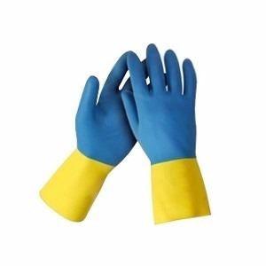 pack de 12 pares de guantes latex talle m