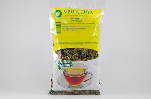 pack de 2 té de mburucuya botica del señor 30g