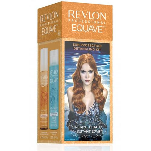 pack equave shampoo + acondicionador revlon